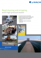 11. Roadway cleaning…